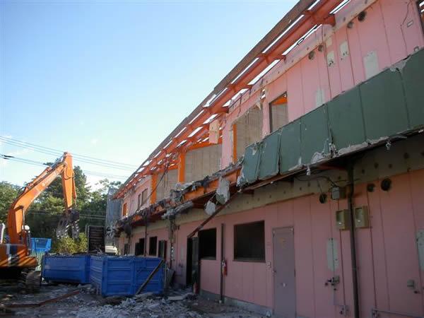 Kアパート解体工事