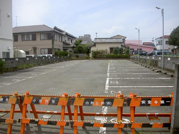 アパート駐車場解体工事
