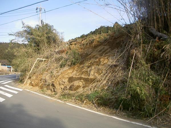 三島市川原ヶ谷農道災害復旧工事